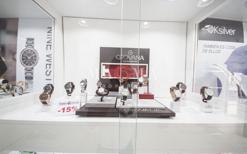 EXCELLENT BUSINESS OPPORTUNITY OF JEWELERY IN C.C. SAN EUGENIO 25.000€