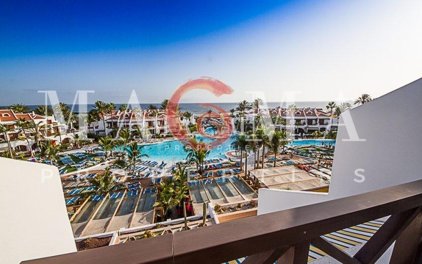 Parque Santiago III Duplex , 1 bed sea view, pool side